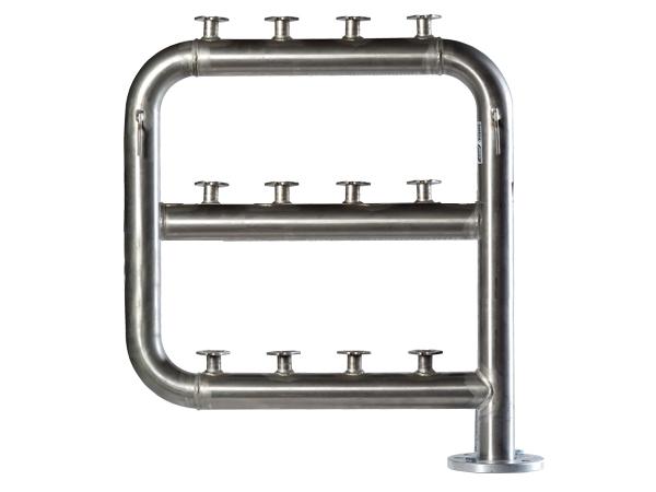 Bateria de contadores de agua de acero galvanizado standard - Acero galvanizado precio ...